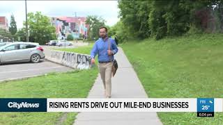 Rising rents drive out Mile-End businesses