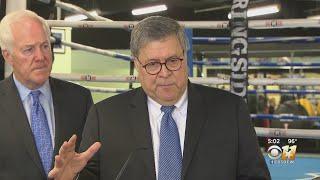 Attorney General Bill Barr Visits Dallas To Discuss City's Violent Crime