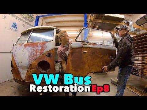 VW BUS Restoration - Episode 8 - Metal Madness! | MicBergsma - UCTs-d2DgyuJVRICivxe2Ktg