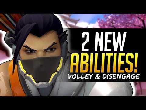 Overwatch HANZO 2 NEW ABILITIES - Volley and Disengage - UCmSwqv2aPbuOGiuii2TeaLQ