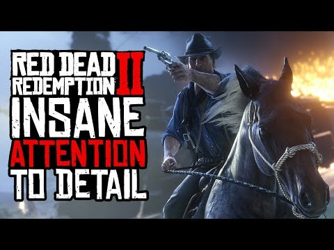 Red Dead Redemption 2: 49 Tiny Mind-Blowing Little Details - UCKy1dAqELo0zrOtPkf0eTMw