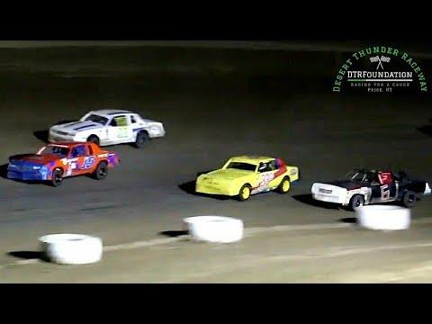 Desert Thunder Raceway IMCA Hobby Stock Main Event 7/23/21 - dirt track racing video image