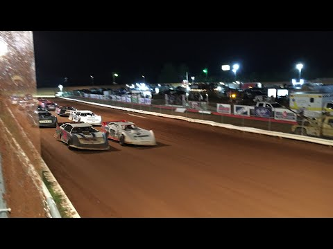 Lake View Motor Speedway 8-7-21 LateModels Gerraldfarms - dirt track racing video image
