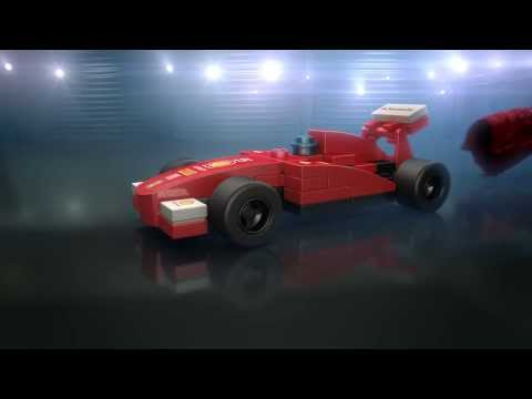 Shell - Ferrari Model LEGO Ad