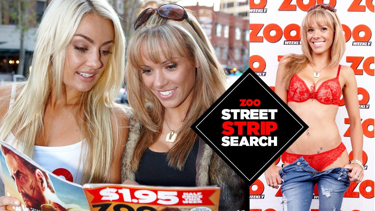 ZOO Street Strip Search – Melissa, 22, Sydney, HD