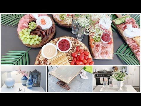 Tábuas de frios - mesa nova - fotos - vida na Bélgica - vlog