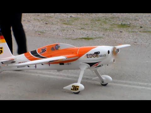 Phoenix Model Sbach DLA 64cc Twin - Maiden Flight