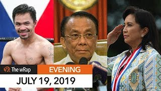 Manny Pacquiao in better shape for fight with Thurman   Evening wRap