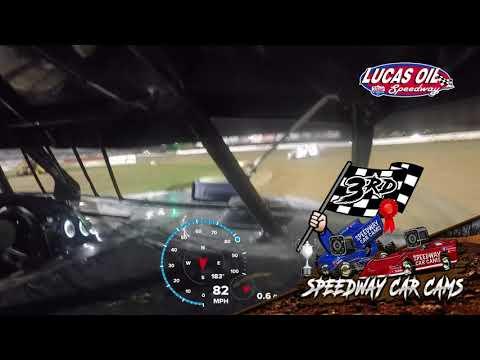 #00s Chris Spaulding - USRA Modified - 10-7-2021 Lucas Oil Speedway - In Car Camera - dirt track racing video image