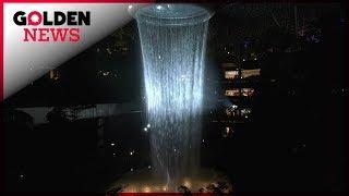 HYPER STYLE : La plus grande cascade intérieure du monde est à Singapour