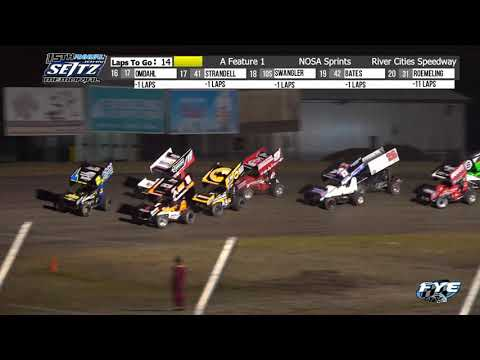 River Cities Speedway 9/10/21 NOSA Sprint Highlights - dirt track racing video image