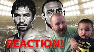 Manny Pacquiao vs Keith Thurman - A CLOSER LOOK REACTION + Manny Pacquiao