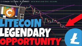 LITECOIN LEGENDARY OPPORTUNITY: LITECOIN IS ABOUT TO REVERSE UP! HERES PROOF