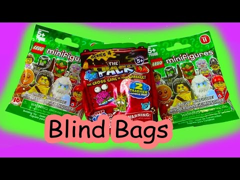 Mystery Surprise Blind Bags Trash Packs Lego Series 11 Unboxing Toy Review - UCelMeixAOTs2OQAAi9wU8-g