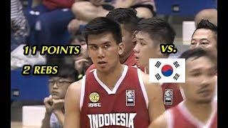 Juan Laurent 11 Points (4-7 FG) vs. South Korea   July 15, 2019