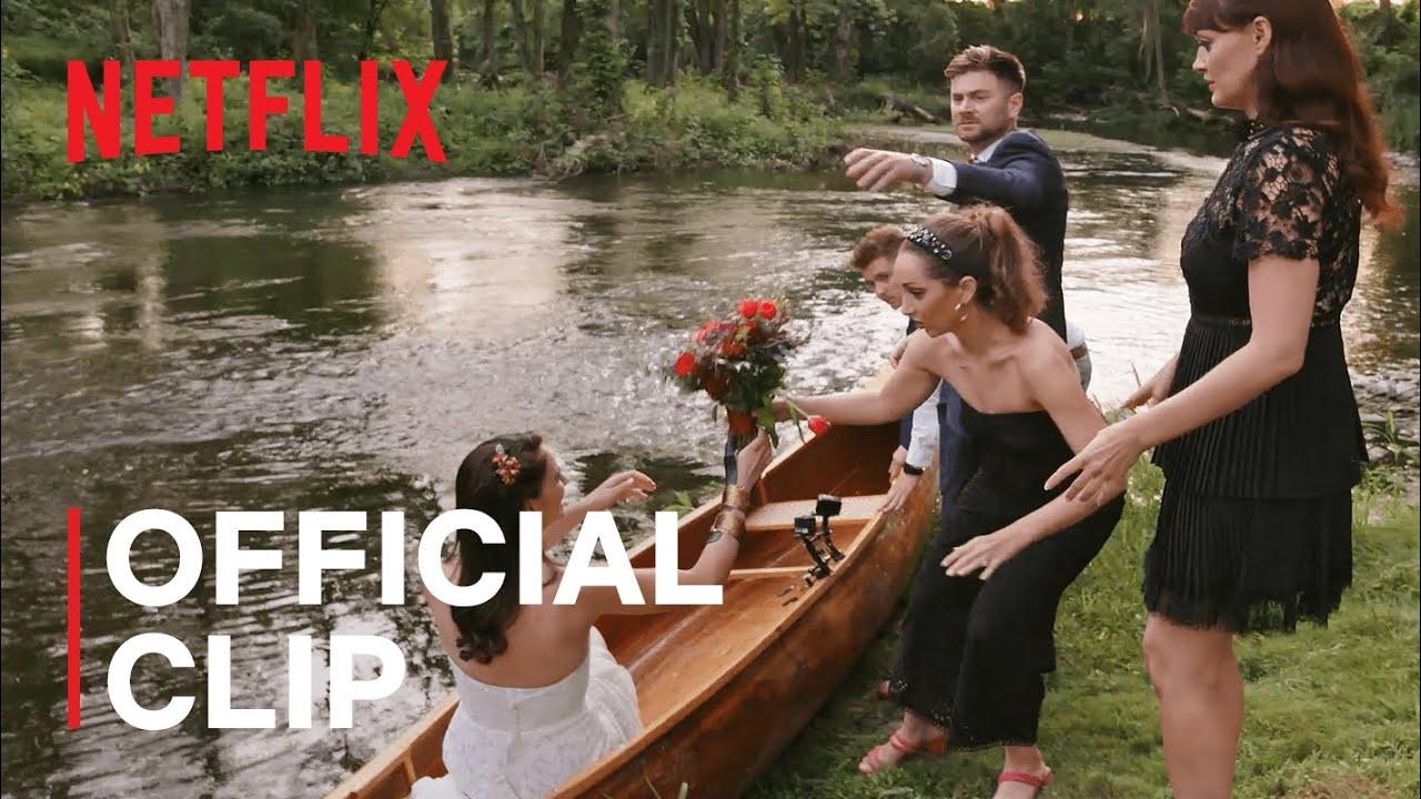 The Wedding Coach | Wedding Couple Makes Their Grand Entrance On A Canoe | Netflix