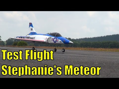 Test pilot Stephanie and the Dynam Meteor's first flight - UCQ2sg7vS7JkxKwtZuFZzn-g
