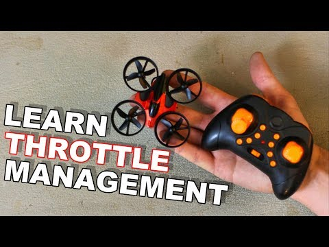 Learn Drone Throttle Management Under $20 - RTF Mini Quadcopter RH807 - TheRcSaylors - UCYWhRC3xtD_acDIZdr53huA