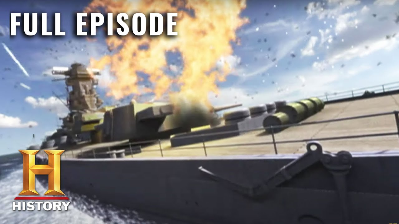 Battle 360: Japanese Navy Defeated at the Battle of Leyte Gulf (S1, E9) | Full Episode | History