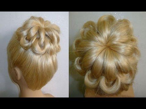 Einfache Frisuren:Hochsteckfrisur.Flechtfrisuren.Zopffrisur.Donut Hair Bun Updo Hairstyles.Peinados - UCQfO6kKw2xwRtCjylCNmxtQ