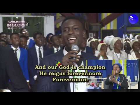 CRF MASS CHOIR MINISTRATION  RCCG NOVEMBER 2019 HOLY GHOST SERVICE