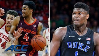 Zion Williamson, Nickeil Alexander-Walker | ACC Players of the Week