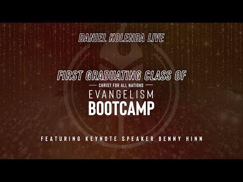 Daniel Kolenda Live  CfaN Bootcamp Graduation Part 1