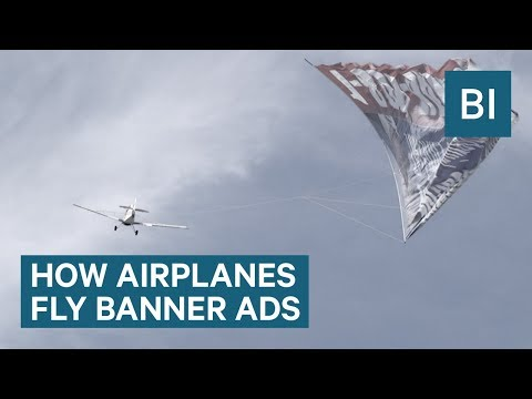 How airplanes fly those giant banner ads — it's more dangerous than you think - UCsvgoi3v6zshIIscDDXL2Hg