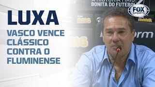 LUXEMBURGO AO VIVO! Vasco vence clássico contra o Fluminense de virada