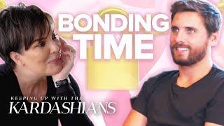 Scott Disick & Kris Jenner's Best Bonding Moments   KUWTK   E!