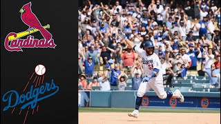 Cardinals vs Dodgers YouTube Game of the Week Highlights (8/7/19) | Dodgers Win 2-1 | MLB Highlights