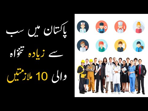 Top 10 Highest Paying Jobs In Pakistan