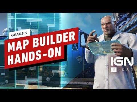 Hands-On with Gears 5 Escape Map Builder - IGN First