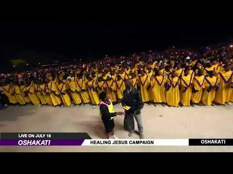 WATCH THE HEALING JESUS CAMPAIGN, LIVE FROM OSHAKATI. DAY 2.