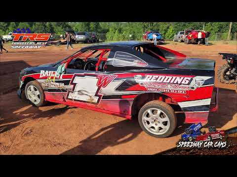 Winner #1W Bradley Williams - FWD - 5-21-21 Travelers Rest Speedway - InCar Camera - dirt track racing video image