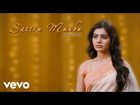 Neethaane En Ponvasantham - Sattru Munbu Video | Jiiva, Samantha - UCTNtRdBAiZtHP9w7JinzfUg