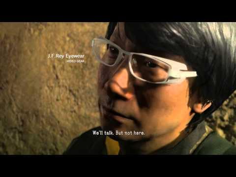 Metal Gear Solid 5 Phantom Pain - Hideo Kojima Easter Egg - default