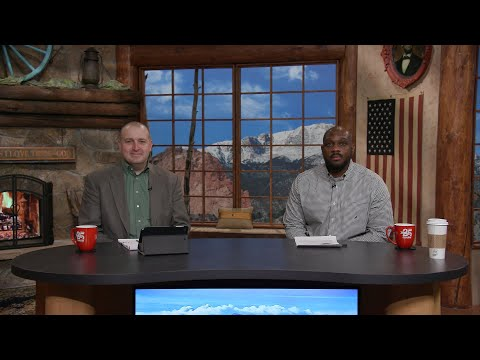 Charis Daily Live Bible Study: God's Alternative Society - Ricky Burge - March 17, 2021