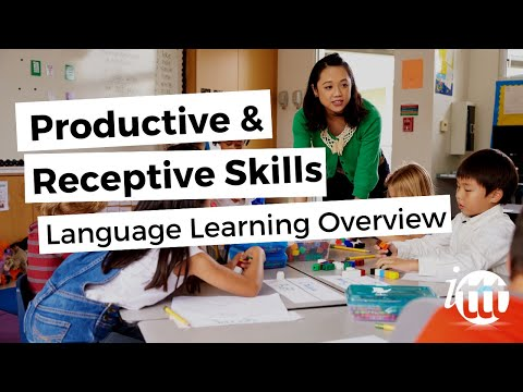 Productive and Receptive Skills in the ESL Classroom - Productive Skills Overview