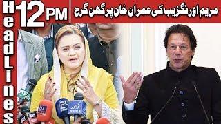 Maryam Aurangzeb Bashing On Imran Khan | Headlines 12 PM | 9 July 2019 | AbbTakk