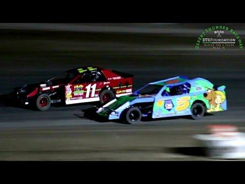 Desert Thunder Raceway IMCA Northern SportMod Main Event 6/26/21 - dirt track racing video image