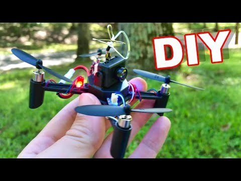 DIY FPV Drone - DM002 Build it Yourself - Dirt Cheap and Easy to Build and Fly! - TheRcSaylors - UCYWhRC3xtD_acDIZdr53huA
