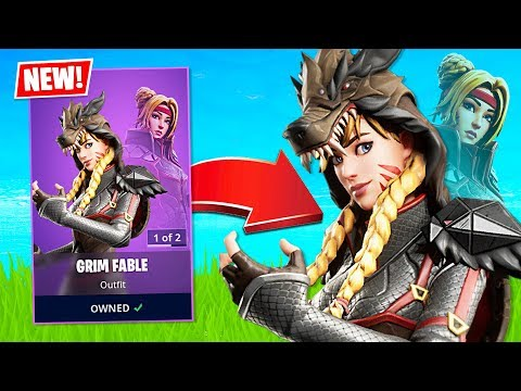New Grim Fable Skin! (Fortnite Battle Royale) - UC2wKfjlioOCLP4xQMOWNcgg