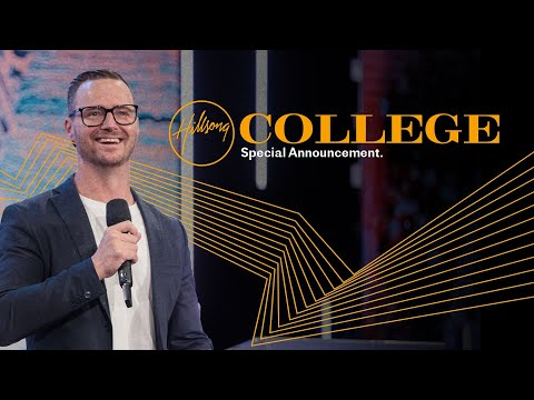 Hillsong College Africa  The Vision Continues  Special Announcement