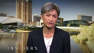 Penny Wong says Government showed 'no credibility' on climate at Pacific Islands Forum | Insiders
