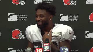 Jarvis Landry Comments on Antonio Callaway's Suspension - MS&LL 8/12/19