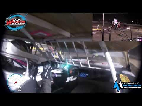 #10J Jake Nelson IMCA Stock Car On-Board @ Williston (8/28/21) - dirt track racing video image