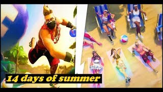 Fortnite Is Gearing up For a Massive Summer Pool Party Event – 14 Days Of Summer