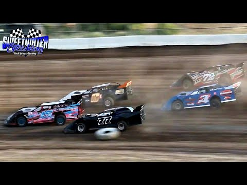 Sweetwater Speedway High Plains Late Model Series Heat Races 7/3/21 - dirt track racing video image