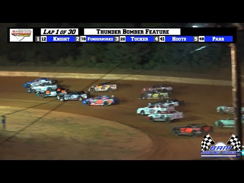 BAM Promotions $3k to Win Thunder Bomber Feature - Carolina Speedway 7/16/21 - dirt track racing video image